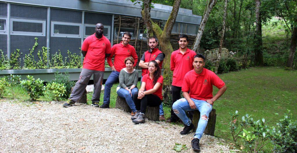 Equipo de personal de Selva Asturiana 2017