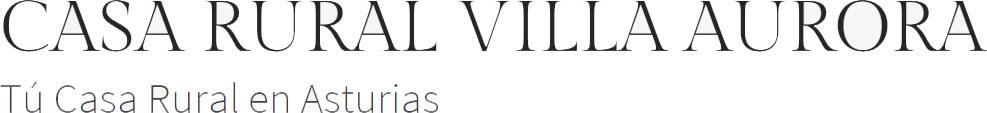 Logo Casa Rural Villa Aurora