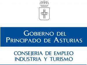 Logo conserjeria de empleo, industria y turismo